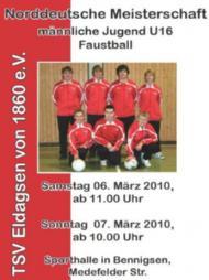 Norddeutsche Meisterschaft der männlichen Jugend 16 am 06./07.März 2010 in Spinge